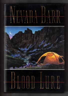 Blood Lure - 1st Edition/1st Printing. Nevada Barr.
