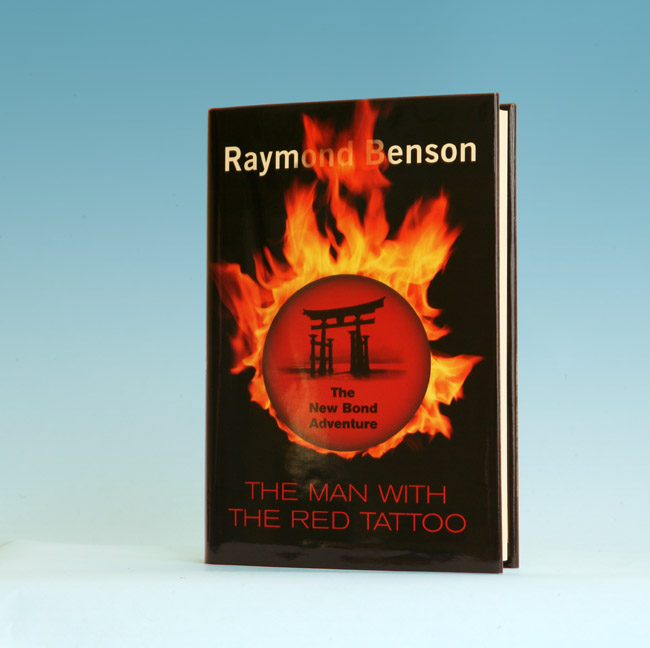 The Man With The Red Tattoo - 1st Edition/1st Printing. Raymond Benson.