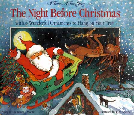 Christmas Books.The Night Before Christmas By Clement Clarke Moore On Books Tell You Why Inc
