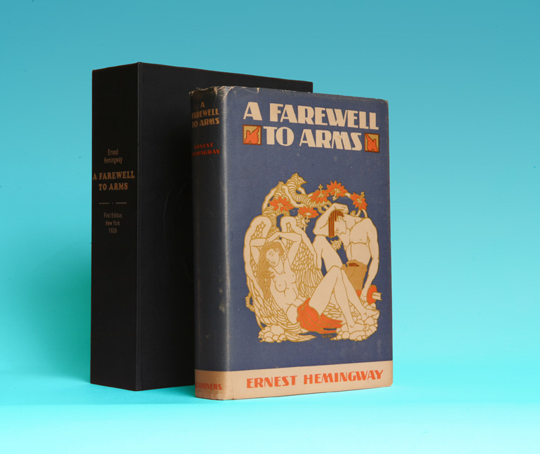 A Farewell To Arms - 1st Edition/1st Printing. Ernest Hemingway.