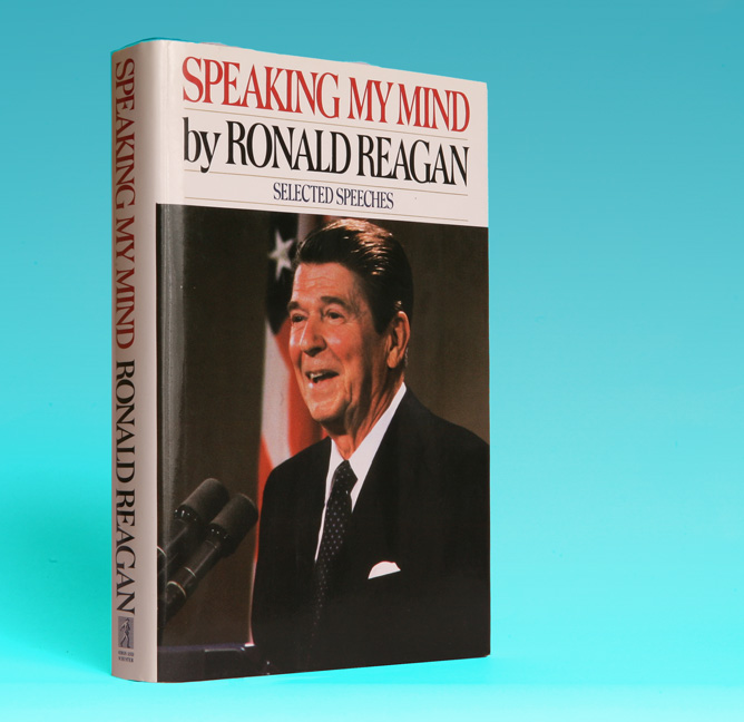 Speaking My Mind - 1st Edition/1st Printing. Ronald Reagan.