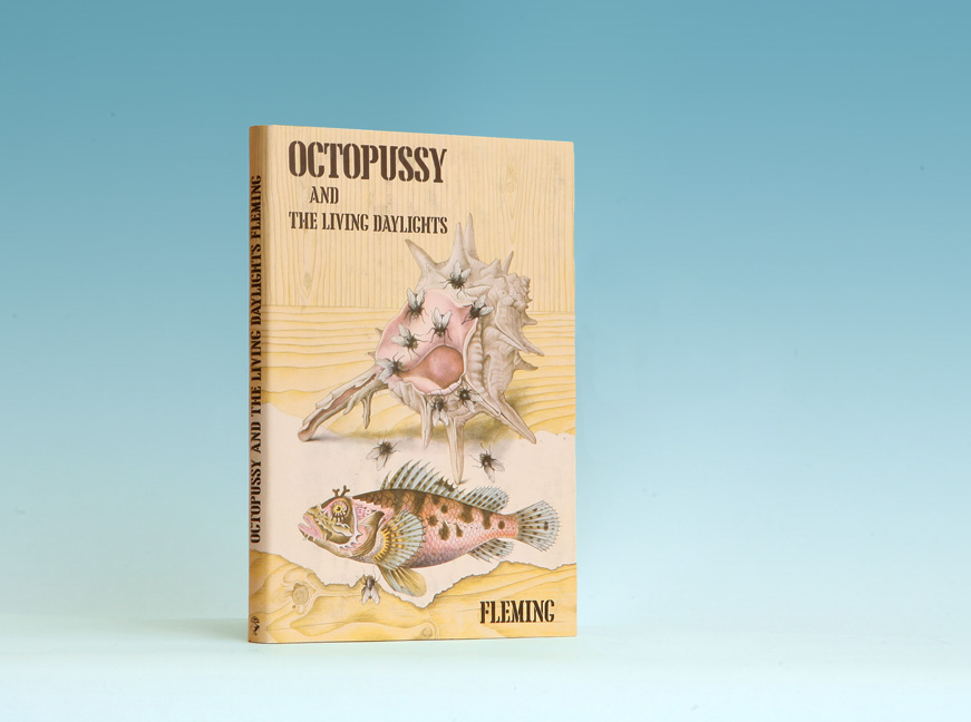 Octopussy And The Living Daylights - 1st Edition/1st Printing. Ian Fleming.