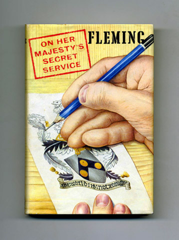On Her Majesty's Secret Service - 1st Edition/1st Printing. Ian Fleming.