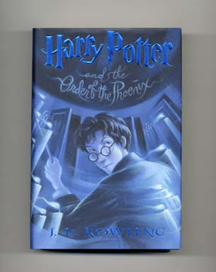 Harry Potter And The Order Of The Phoenix 1st US Edition