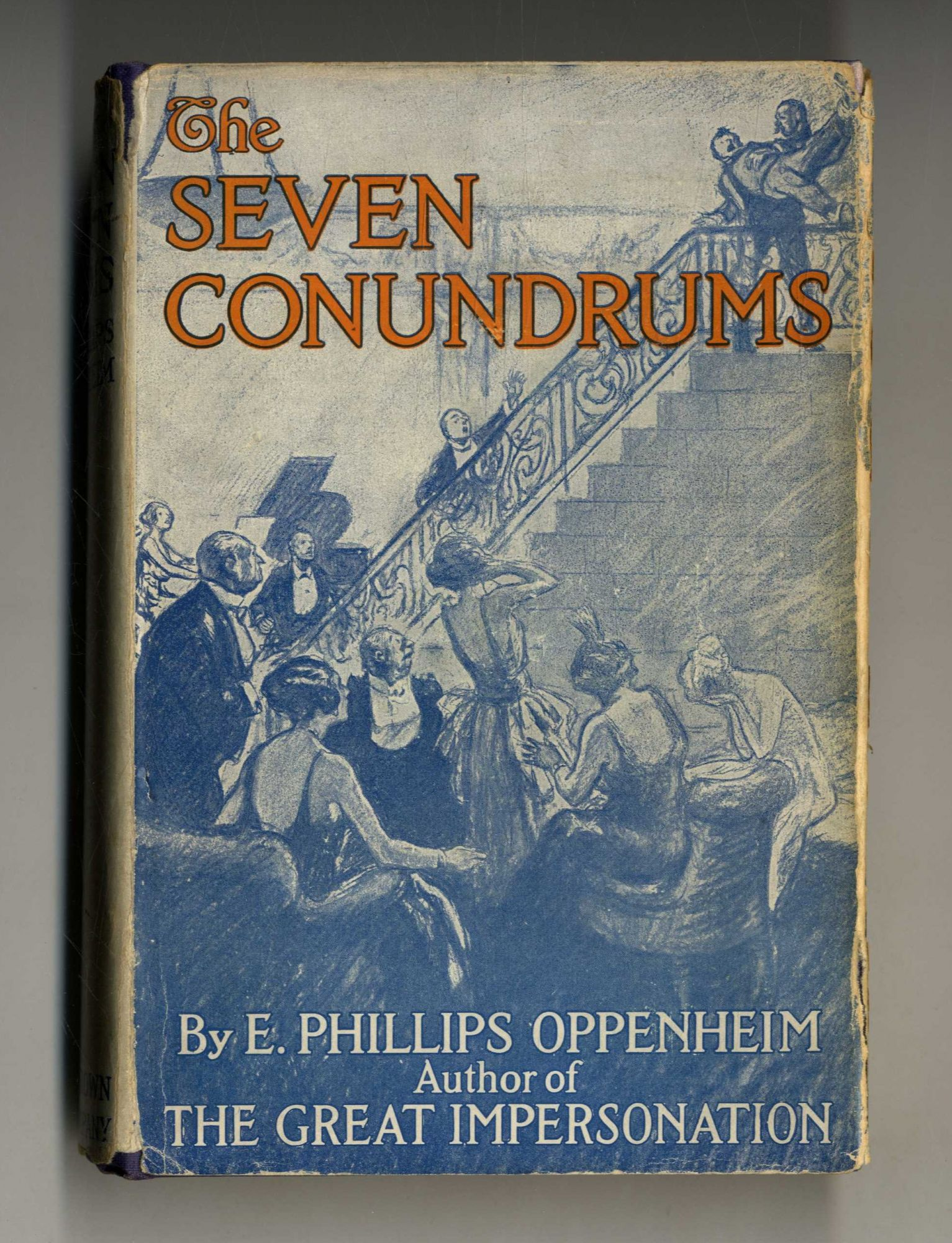 The Seven Conundrums 1st Edition/1st Printing. E. Phillips Oppenheim.