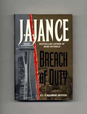 Breach of Duty - 1st Edition/1st Printing. J. A. Jance.