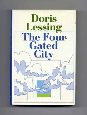 The Four-Gated City - 1st US Edition/1st Printing. Doris Lessing.