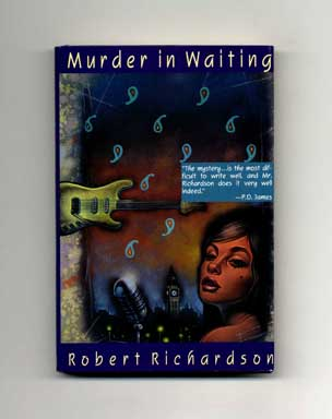 Murder in Waiting - 1st US Edition/1st Printing. Robert Richardson.