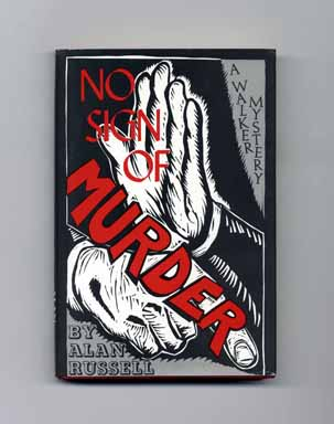 No Sign of Murder - 1st Edition/1st Printing. Alan Russell.