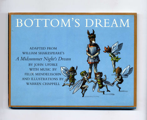 Bottom's Dream - 1st Edition/1st Printing. John Updike.