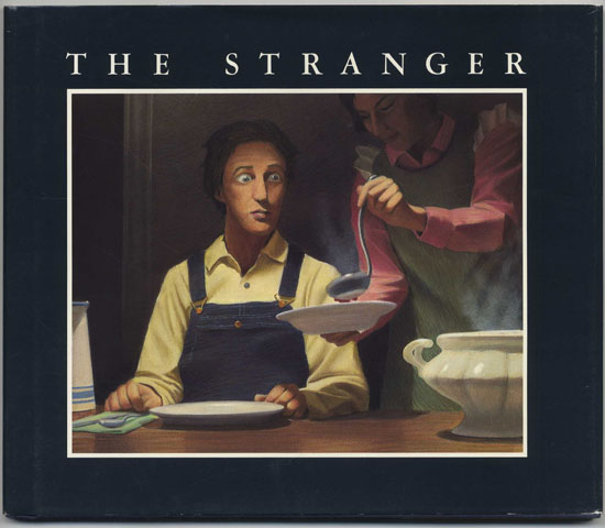 The Stranger - 1st Edition/1st Printing. Chris Van Allsburg.