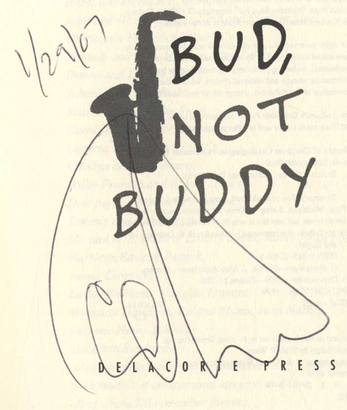 bud not buddy 1st edition 1st printing christopher paul curtis