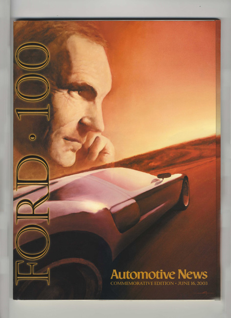 Ford 100; Commemorative Edition June 16, 2003. Automotive News, Peter Brown.