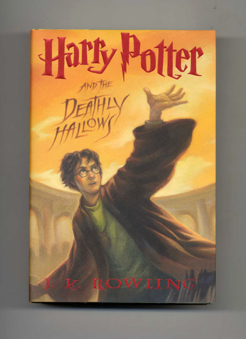 harry potter and the deathly hallows 1st edition