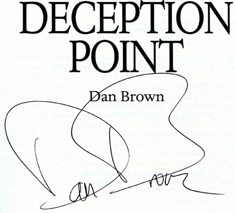 report on deception point by dan brown The paperback of the deception point by dan brown at barnes & noble free  shipping on $25 or more.