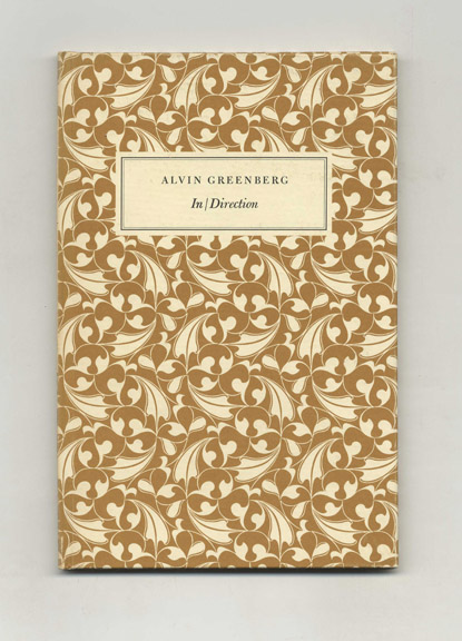 In/Direction - 1st Edition/1st Printing. Alvin Greenberg.