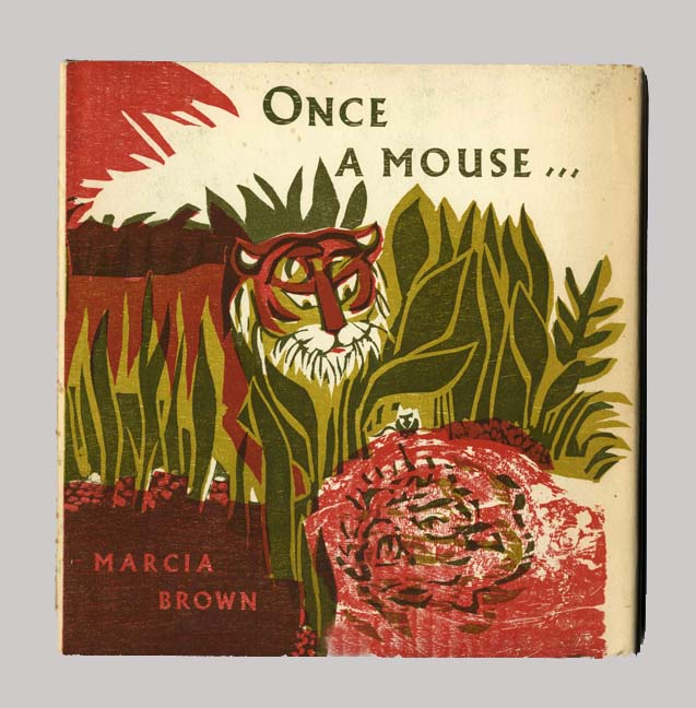 Once A Mouse...a fable cut in wood - 1st Edition/1st Printing. Marcia Brown.