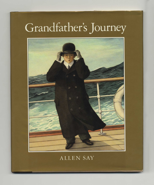 Grandfather's Journey - 1st Edition/1st Printing. Allen Say.