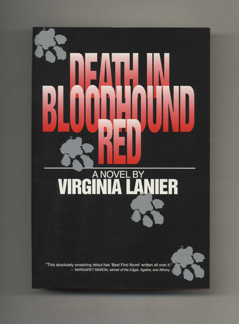 Death in Bloodhound Red - 1st Edition/1st Printing. Virginia Lanier.