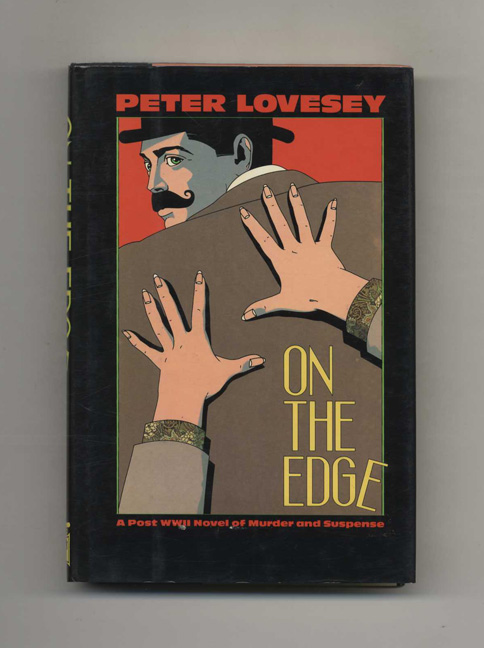 On the Edge - 1st Edition/1st Printing. Peter Lovesey.