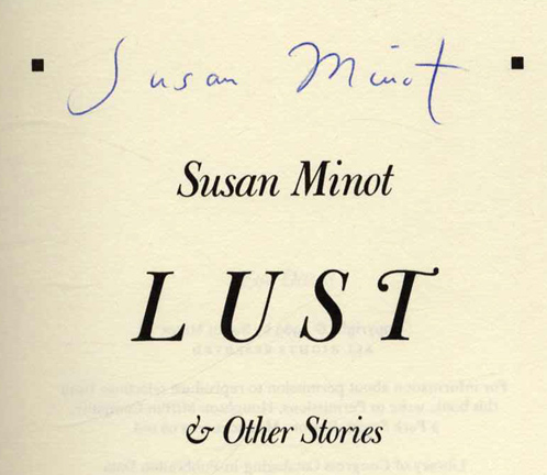 by essay lust minot susan Find all available study guides and summaries for lust by susan minot if there is a sparknotes, shmoop, or cliff notes guide, we will have it listed here.