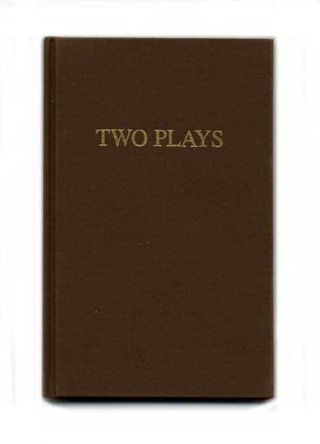 Two Plays - 1st Edition/1st Printing. James Purdy.