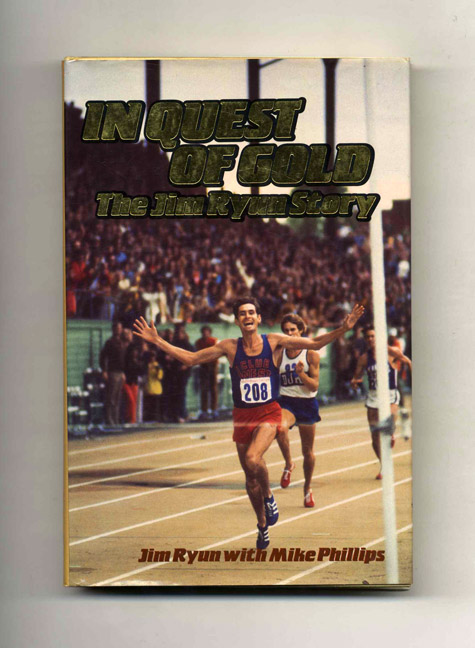 In Quest of Gold - 1st Edition/1st Printing. Jim Ryun.