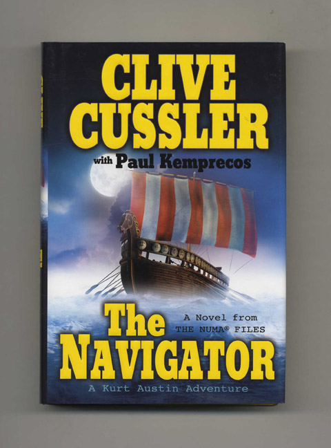 The Navigator - 1st Edition/1st Printing. Clive Cussler, Paul Kemprecos.