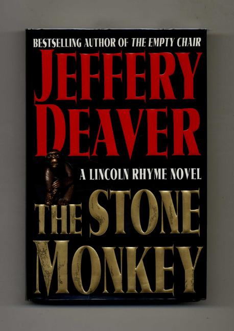 The Stone Monkey - 1st Edition/1st Printing. Jeffery Deaver.