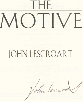 JOHN LESCROART THE FIRST LAW HARCOVER FREE SHIPPING b14