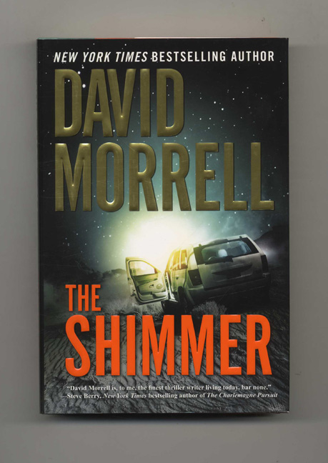 The Shimmer - 1st Edition/1st Printing. David Morrell.