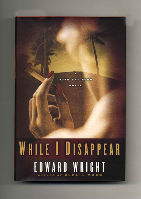 While I Disappear - 1st Edition/1st Printing. Edward Wright.