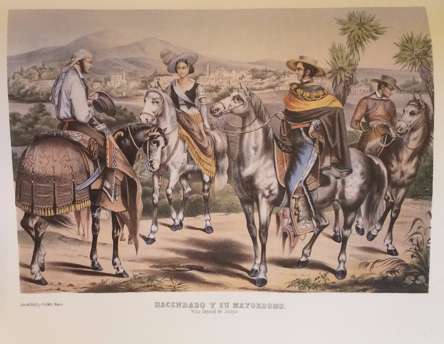 Lithography In Mexico, 1826-1900