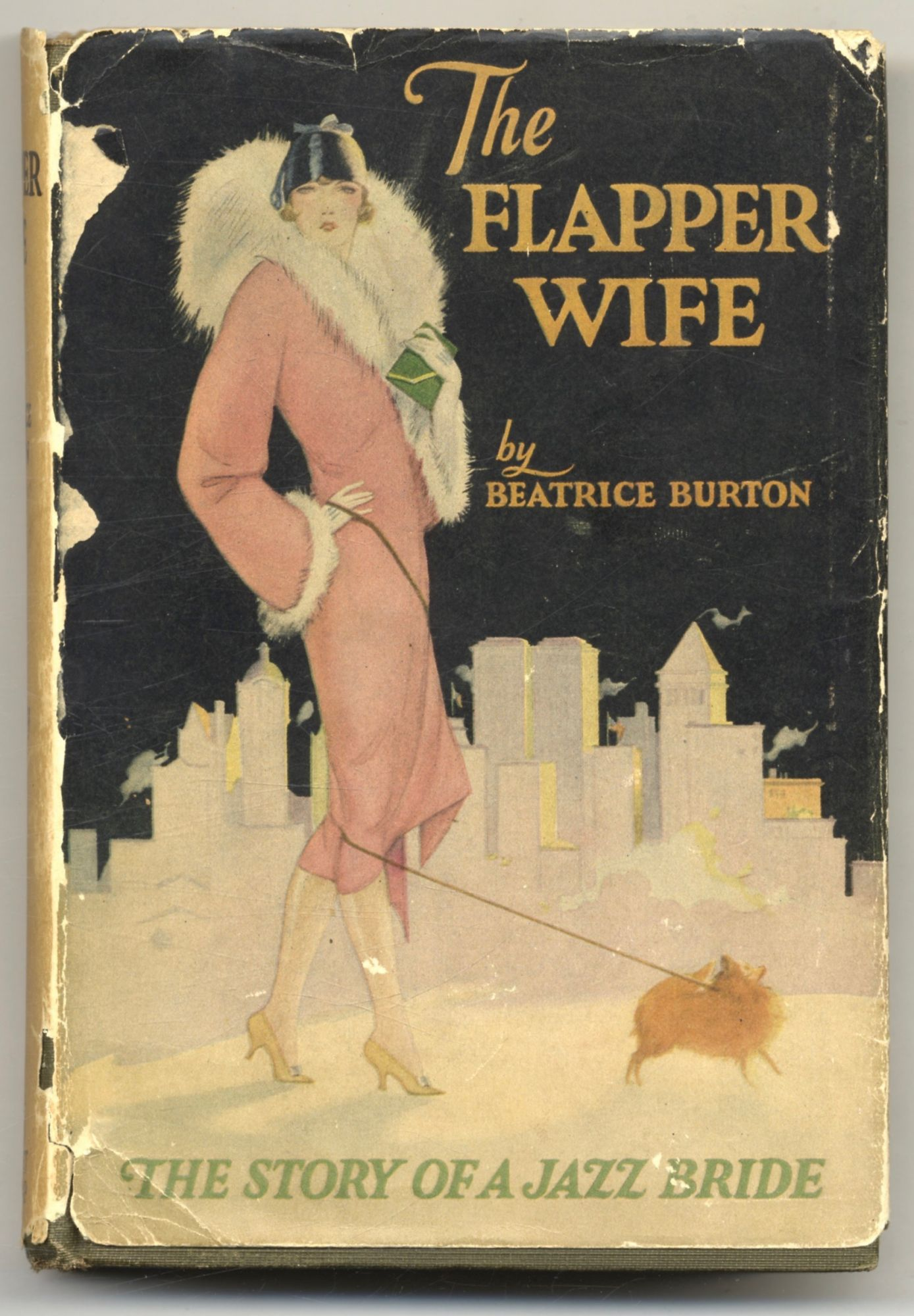 The Flapper Wife, The Story Of A Jazz Bride. Beatrice Burton, Morgan.