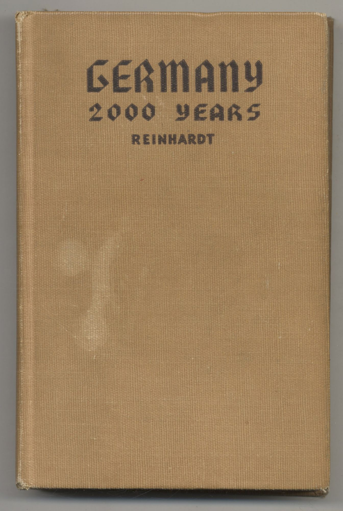 Germany 2000 Years. Kurt F. Reinhardt.