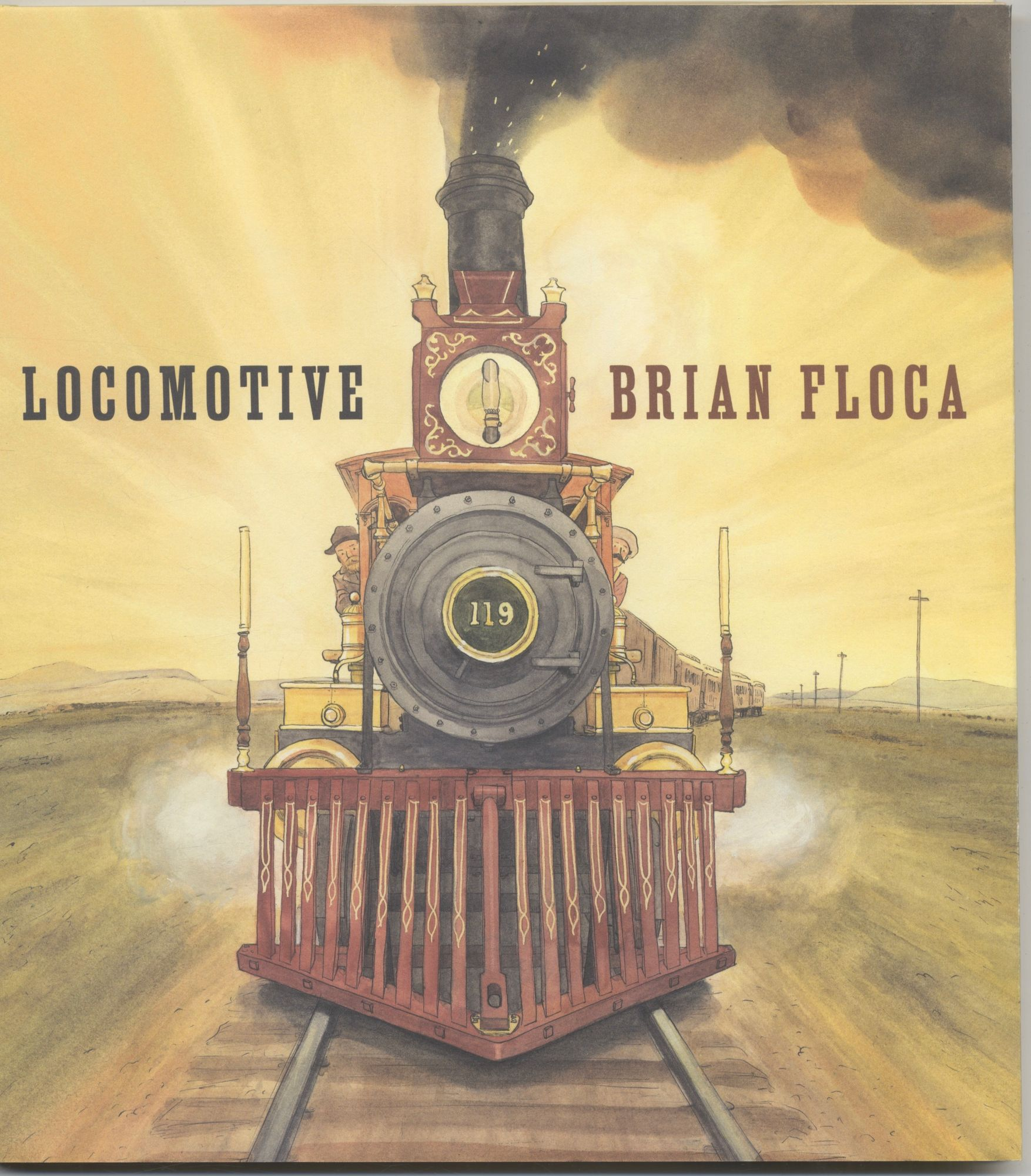 Locomotive First Edition/first Printing. Brian Floca.
