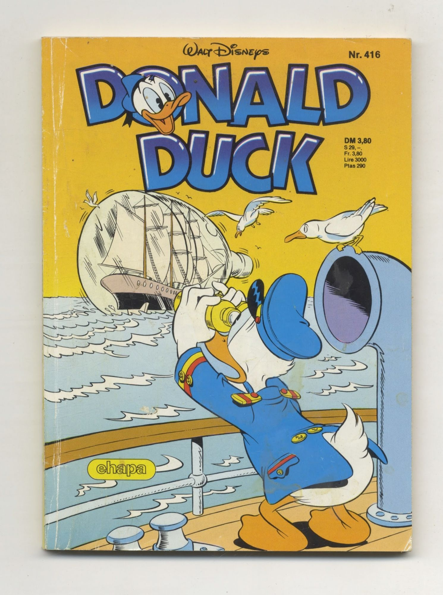 Donald Duck - 1st Edition/1st Printing. Walt Disney.