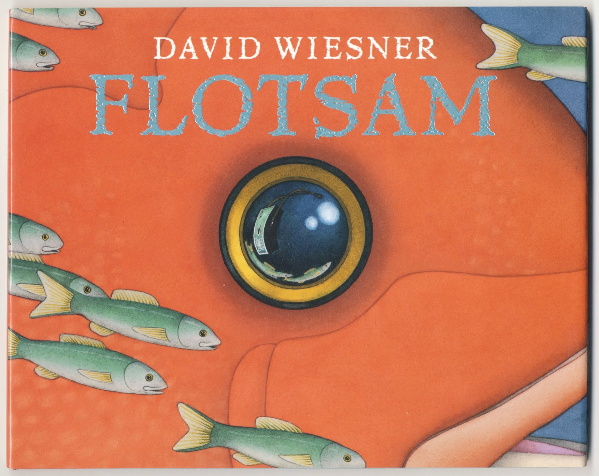 Flotsam First Edition/first Printing. David Wiesner.