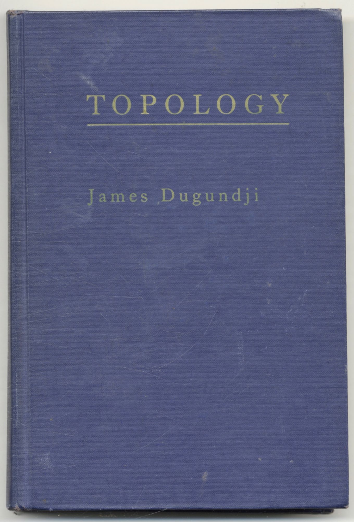 Topology. James Dugundi.