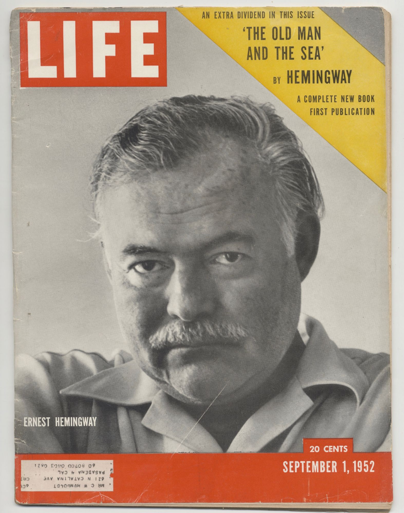 Old Man And The Sea - 1st Print Appearance. Ernest Hemingway.
