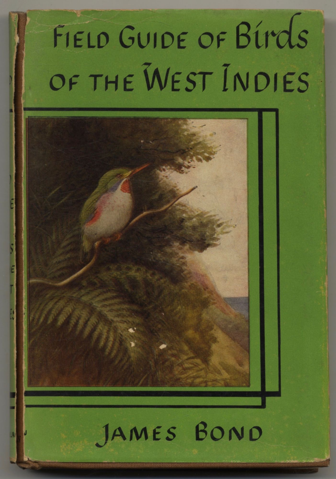 The Field Guide Of Birds Of The West Indies. James Bond.