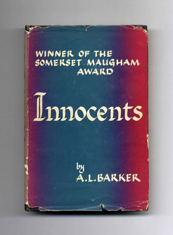 Innocents - 1st US Edition/1st Printing. A. L. Barker.