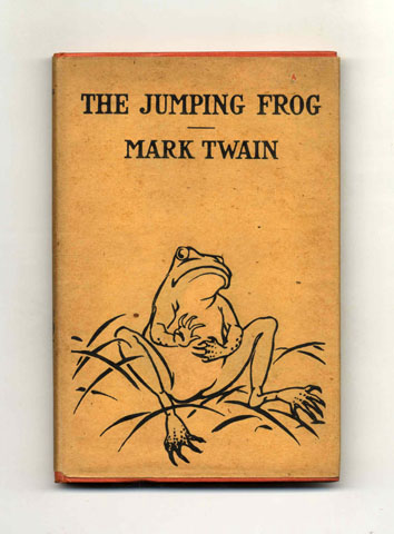 mark twains jumping frog essay Results 1 - 48 of 67  the notorious jumping frog & other stories by mark twain, heritage  mark  twain the complete short stories & famous essays one.