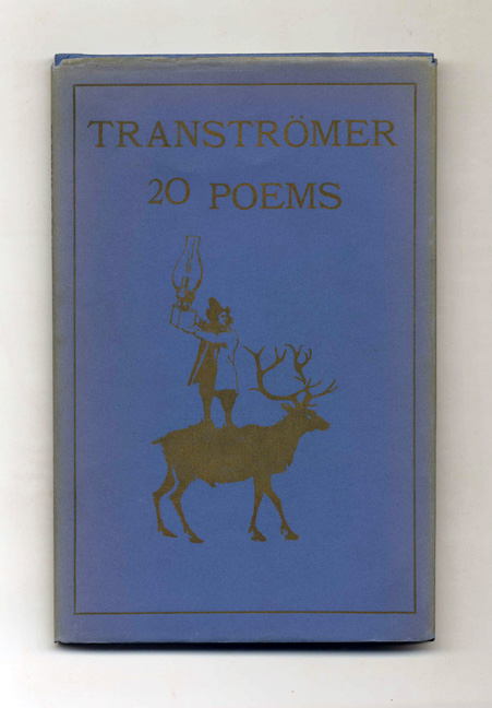 20 Poems - 1st US Edition/1st Printing. Tomas Tranströmer.