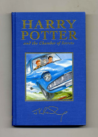 Harry potter chamber of secrets book first edition