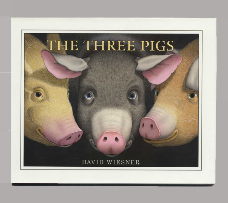 The Three Pigs - 1st Edition/1st Printing. David Wiesner.