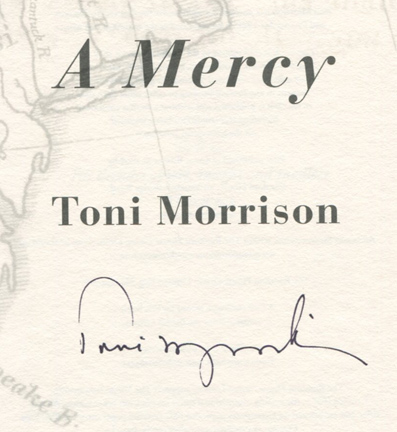 """essays on toni morrisons a mercy Landscape of america in toni morrison's a mercy   in toni morrison's a mercy, """" in jopi nyman, ed, post-national enquiries: essays on."""