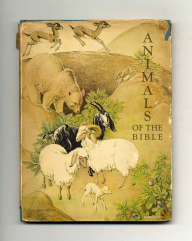 Animals Of The Bible. Helen Dean Fish, Dorothy P. Lathrop.