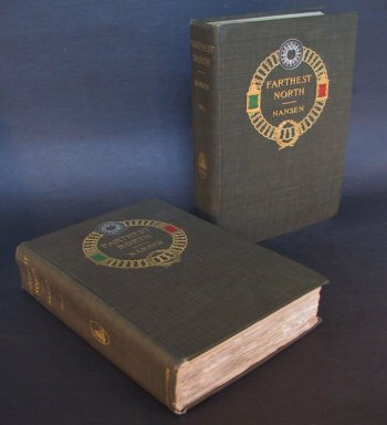 Farthest North - 1st US Edition. Fridtjof Nansen.