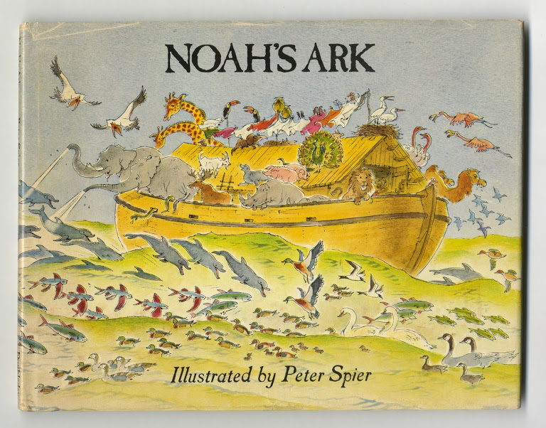 Noah's Ark - 1st Edition/1st Printing. Peter Spier.